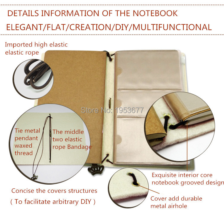 Retro Felt cloth notebook-H.jpg