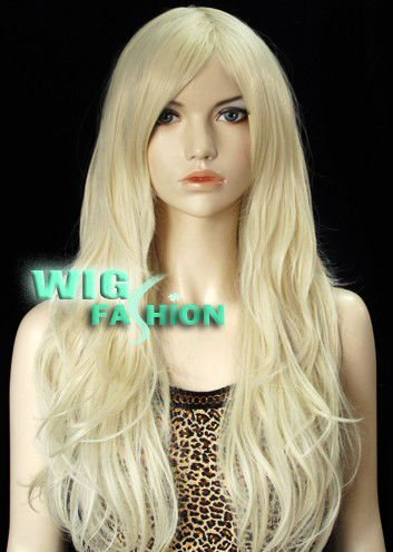 Where Can I Buy A Long Blonde Wig 8