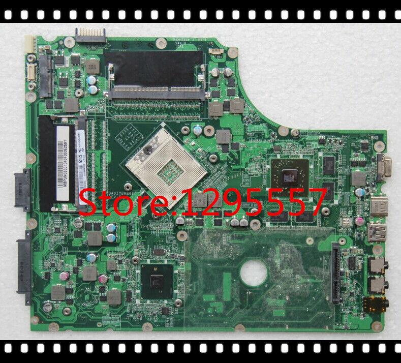 Original MBPUN06001 7745 Mainboard HM55 non-integrated ATI Card 216-0772000 DA0ZYBMB8E0 100% fully tested(China (Mainland))