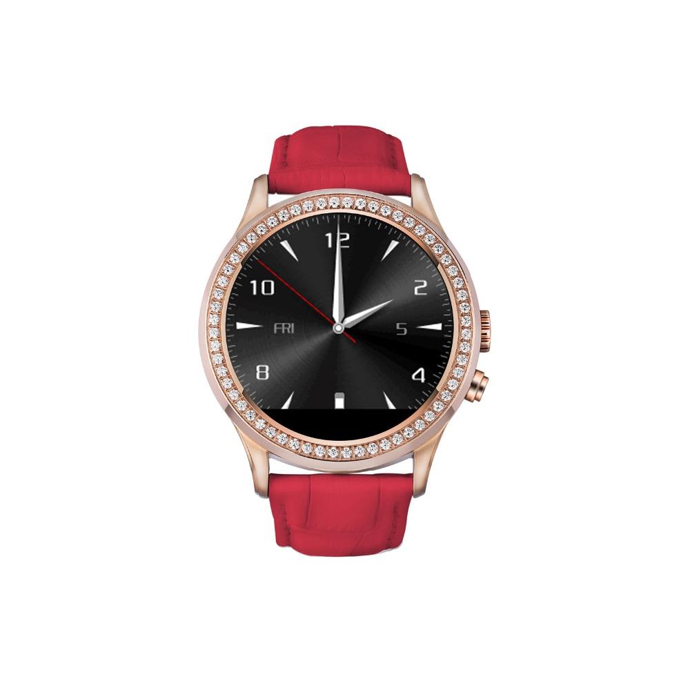 Фотография PARAGON 2016 no.1 S1 Bluetooth Women Diamond Smart Watch for iPhone Samsung Android ios Smartwatch Camera heart Rate monitor D2