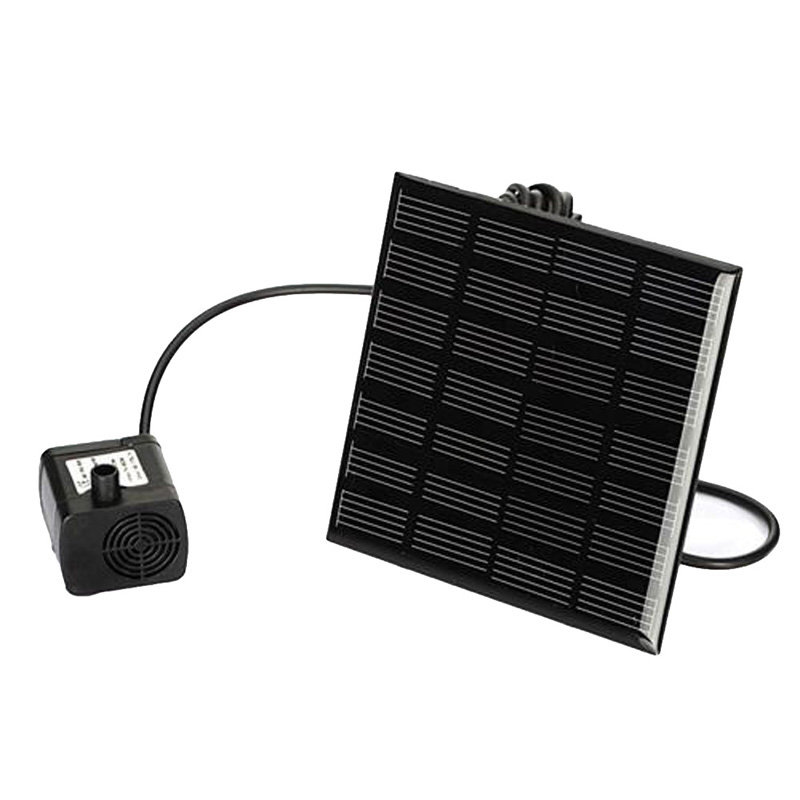 Newest Solar Power Fountain Water Pump Panel Kit Pool Home Garden Fish Pond(China (Mainland))