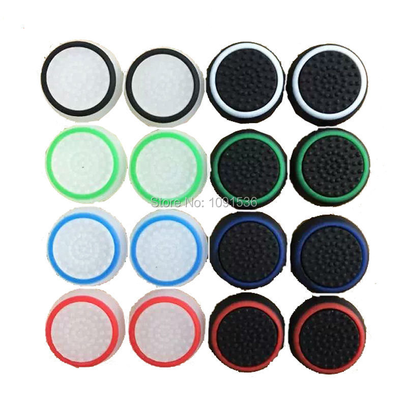 60PCS NEW Durable Thumbsticks Thumb Stick Grip Joystick Cover Caps For Sony PS4 Playstation 4/PS3/XBOX ONE/Xbox 360 Controller(China (Mainland))