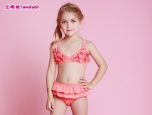 cute toddler frozen bikini