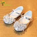 J Ghee 2017 Fashion Girls Shoes Kids Single Shoes Shiny Rhinestone Sequins Children s Sneakers Casual