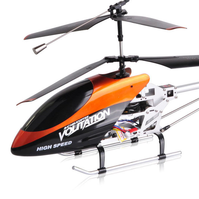 FREE SHIPPING super large remote contrl 3.5CH RC HELICOPER WITH GYRO and alloy 75CM big size helicopter DH9053