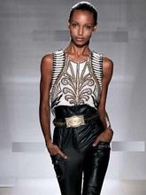 DYV11 Europe Retro Womens heavy Beaded sequined sleeveless coat pearl color vest/women beading vest/2 color 1size beading jacket(China (Mainland))
