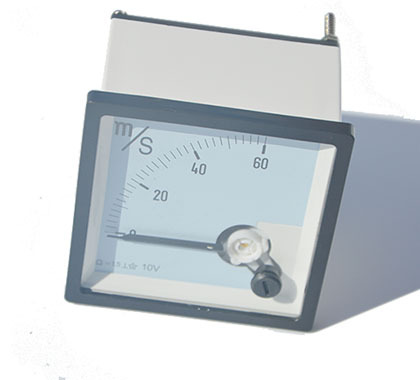 speed meter 0-60m/s .input 0-10v DC 72MM*72mm/also can making according clients require/(China (Mainland))
