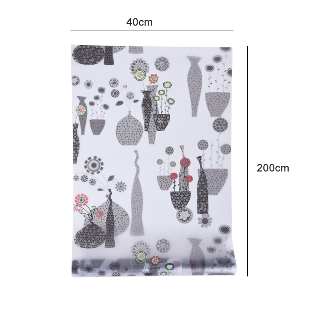 Window Glass Film Paper Self Adhesive Pvc Vase Pattern Sonne Andrea Sf8002 Bark Premium Lady Comfort Casual Leather Sandal Wallpaper Removable Waterproof Sticker Bathroom Hallway Decor Us725