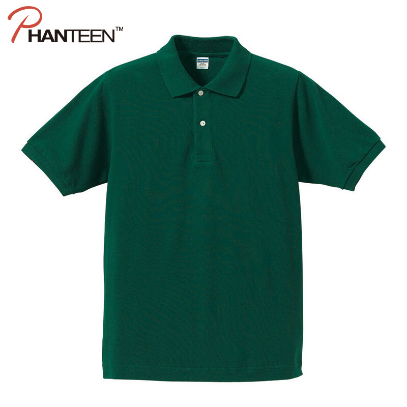 Classic high quality cotton solid man polo shirts short for Couple polo shirts online