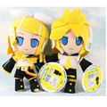30cm Miku Hatsune Vocaloid Kagamine Rin Plush Toy Plush Doll Model Toy New Free shipping h140