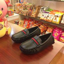 2015 bambini di estate scarpe di cuoio per bambini scarpe da ginnastica di moda ragazzi mocassini scarpe da corsa per ragazzi singoli pattini scarpe da barca bambino oxford(China (Mainland))