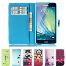Magnetic Flip Leather Phone Case Wallet Stand Cover for Samsung Galaxy A3 A7 A5 J5 J7 2015 Core Grand G530 G360 S3 S4 S5 S6 Edge(China (Mainland))