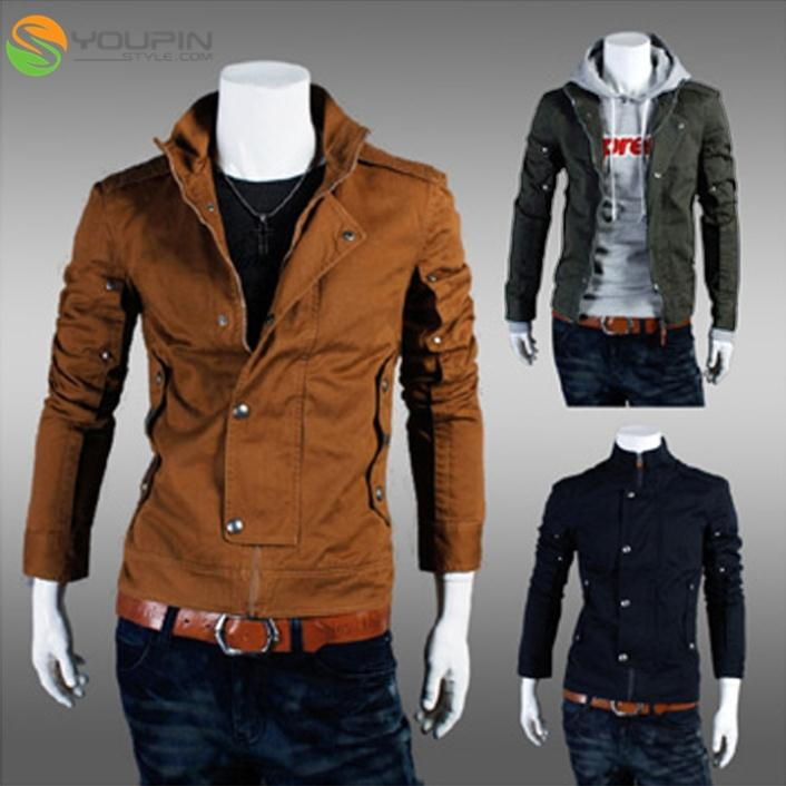 stylish designed jacket mens boys slim fit stylish casual