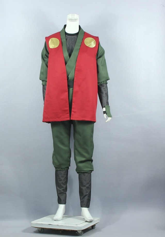 Custom Made Naruto Cosplay Madara Uchiha Armour Party Costume(China (Mainland))