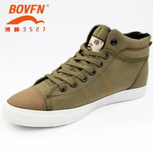 new fall Male canvas shoes Denim blue, green casual shoes high-top lace-up Student shoes couple models huarche yeezy(China (Mainland))