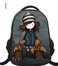 16-inch Cartoon Design Backpacks for Children Boys Girls Super Sonic Game Bookbag Rucksack Primary Students School Bag Mochila