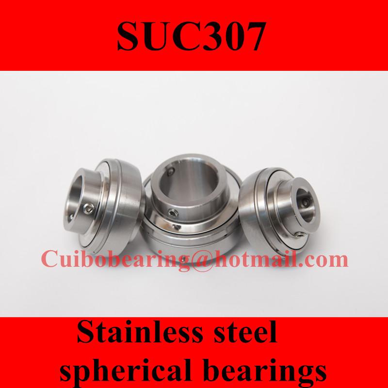 Фотография Freeshipping Stainless steel spherical bearings SUC307 UC307
