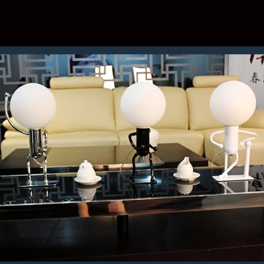 Novelty Fashion Sport Desk Desk Lamp Table Lamps Bedroom Head Lights Stydy Room Lighting E27 with Bulb(China (Mainland))