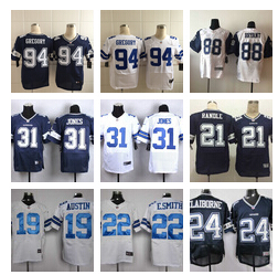 Dallas Cowboys GREGORY williams witten randle beasley romo e.smith CLAIBORNE Carr Aikman Ogletree(China (Mainland))