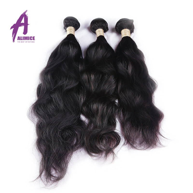 Cheap 6A Brazilian Natural Wave Virgin Hair Bundles Deals Brazilian Virgin Remy Hair Natural Wave Human Hair Extensions <br><br>Aliexpress