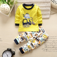 Buy 2016 autumn baby boy girl clothes Long sleeve Top + pants 2pcs sport suit baby clothing set newborn infant clothing for $6.85 in AliExpress store