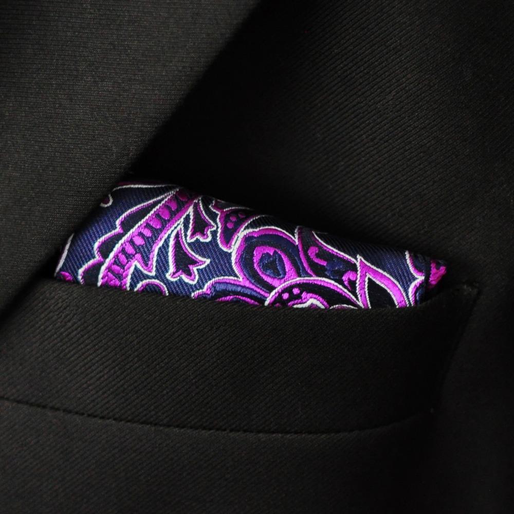 Purple Paisley Suit Floral Paisley Purple Navy