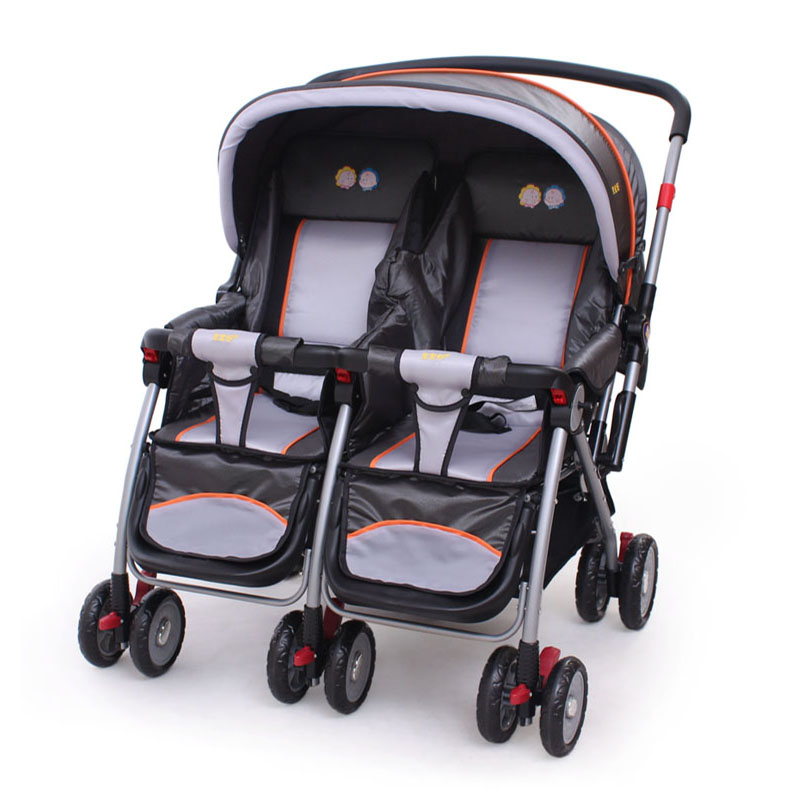 Baby Carriage INFANT folding Stroller Twins Buggy  Baby Stroller Portable child stroller Aircraft-grade Aluminium alloy Frame <br><br>Aliexpress