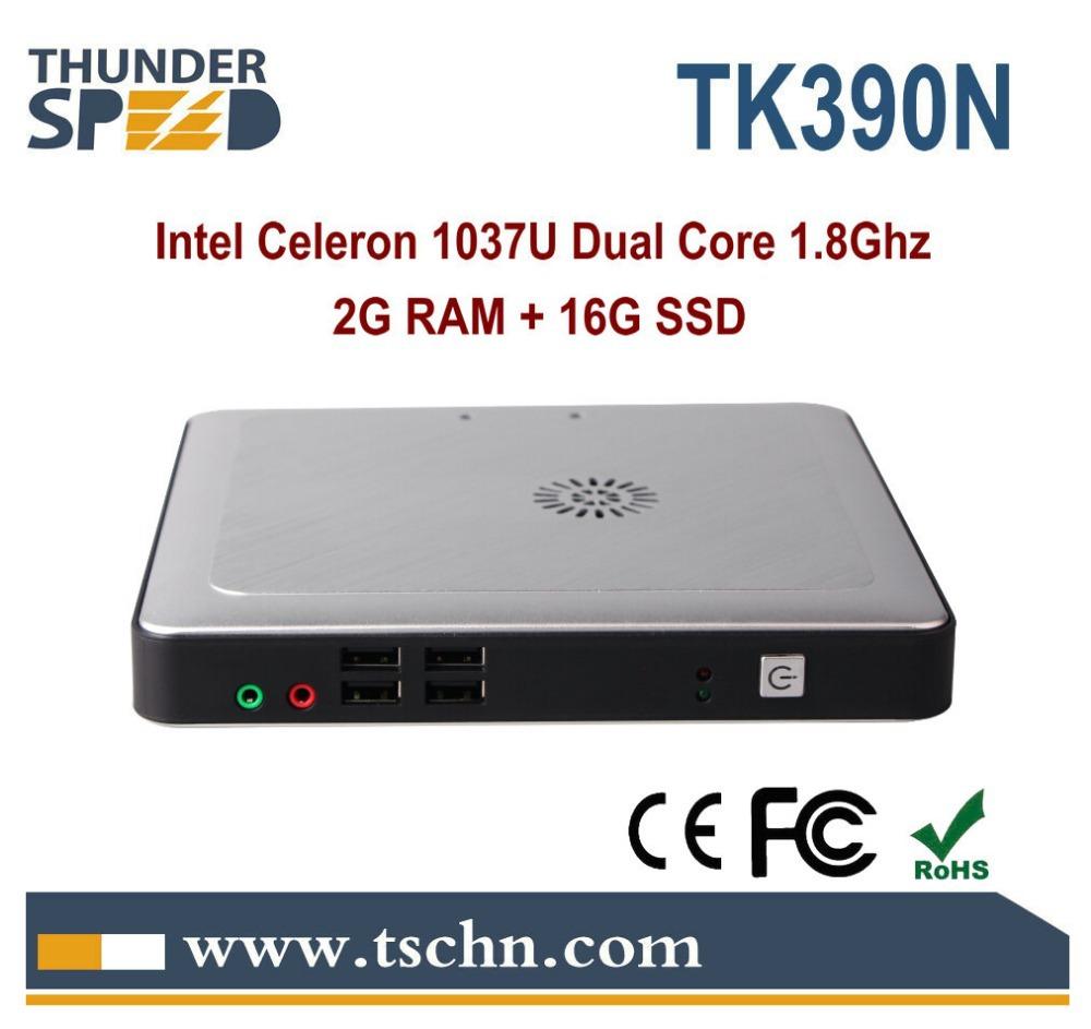 Атом D2500 мини-ПК Intel атома D2500 двухъядерный 1,86 ГГц 2 Гб оперативной памяти 8 Гб SSD Поддержка выиграть 7 ОС