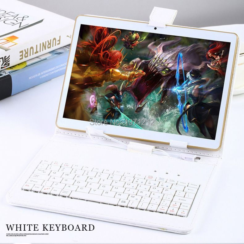 10 inch 3G 4G LTE tablet pc Octa core 1280*800 5.0MP 4GB 128GB Android 5.1 Bluetooth GPS tablet 10 with keyboard