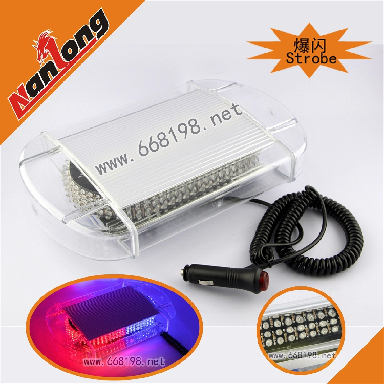 240 LED ROOF FLASHING STROBE EMERGENCY LIGHT WARMING ROOF TOP LAMP Red/Blue(China (Mainland))