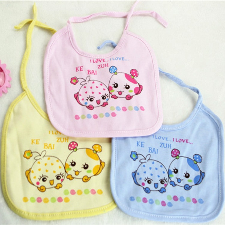 Baby Bibs Bandana Bibs Infant Babador Saliva Bavoir Burp Cloths Towel baberos bebes  waterproof	 Girls Boys 1pcs/lot  KT41