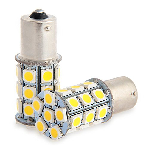 Codee(TM)2x White 1156 BA15S LED 27-SMD Light Bulbs Tail Backup RV Camper 1141(China (Mainland))