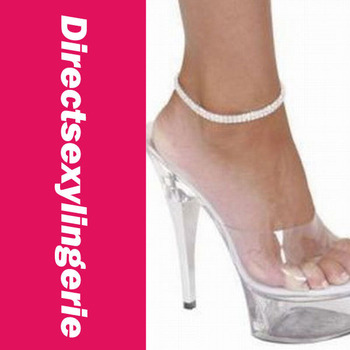 Double Row Rhinestone Ankle Bracelet LC0694+ Cheaper price + Free Shipping Cost + Fast Delivery