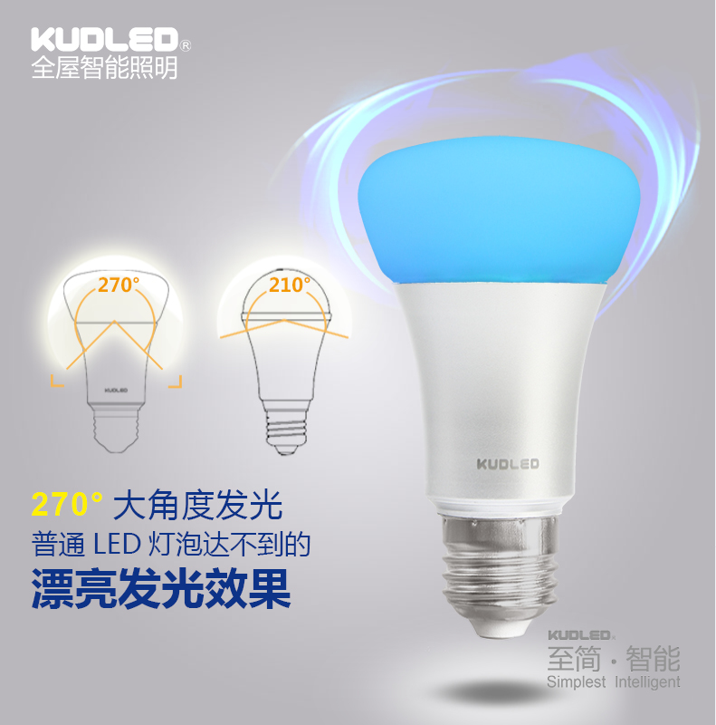 zigbee light link colorful light bulb e27 9w rgbw bulb. Black Bedroom Furniture Sets. Home Design Ideas