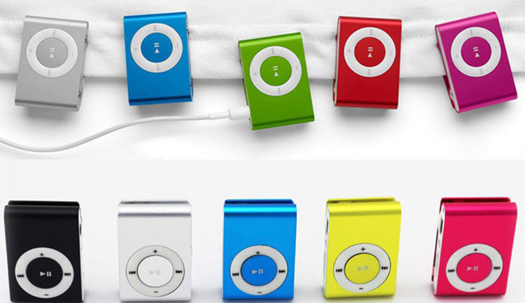 Fashion High Quality Mini Clip MP3 Players With TF Card Slot Electronic Products sports Metal mini Mustic Player(China (Mainland))