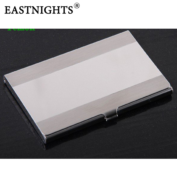 1 Factory Sale Stainless Steel Name Card Case Business Holder,OEM logo Promotion Gift - Sun Shine Leather Co., Ltd. store