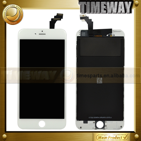 DHL 3pcs 5.5 New Arrival for iPhone 6 Plus LCD Screen Display with Digitizer Touch Screen Assembly Black Color Free Shipping(China (Mainland))