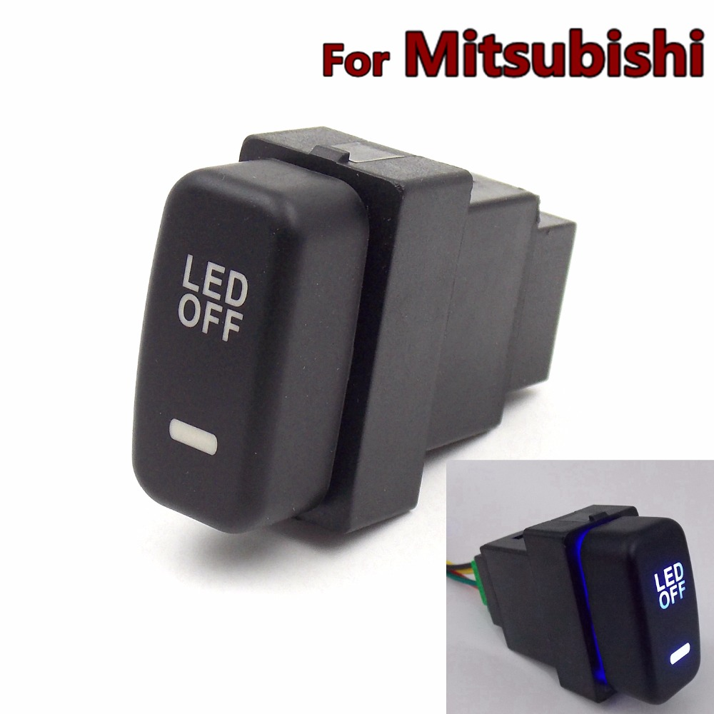 Special Dedicated 12V Car Fog Light Switch Daytime Running Lights Switch Use for Mitsubishi,asx ...