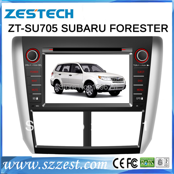 ZESTECH Hot Selling Product Double Din car dvd for Subaru Forester with dvd gps/3G/Bluetooth function(China (Mainland))