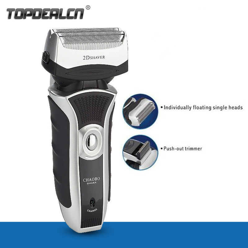 New 2016 220V Rechargeable Male Double-head Reciprocating Electric Shaver for Men Face Hair Trimmer 2D Twin Blade Razor CB-9500<br><br>Aliexpress