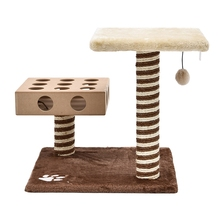 Cat Scratcher Tree Cat Toys Cat House Hanging Crazy Mouse Tree Kitten Bed Pet Home Furniture&Scratcher Fast Delivery(China (Mainland))