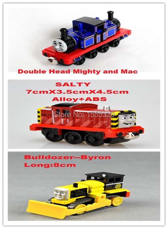 3pcs/lot Learning Curve 100% Original Metal Thomas & Friends Metal train Models collections kids Christmas Gifts(China (Mainland))