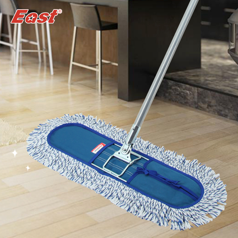 East Wood floor flat mop Large household 360 degree spin dry magic mop rotating mop(China (Mainland))