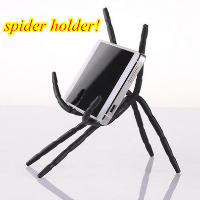 universal flexible spider phone holder for samsung movil stand support for iphone car stent soporte mobile cell phone holder kit(China (Mainland))