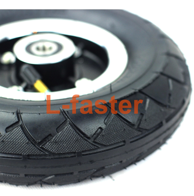 """200MM Electric Scooter Tyre With Wheel Hub 8"""" Scooter Tyre Inflation Electric Vehicle Aluminium Alloy Wheel Pneumatic Tire(China (Mainland))"""