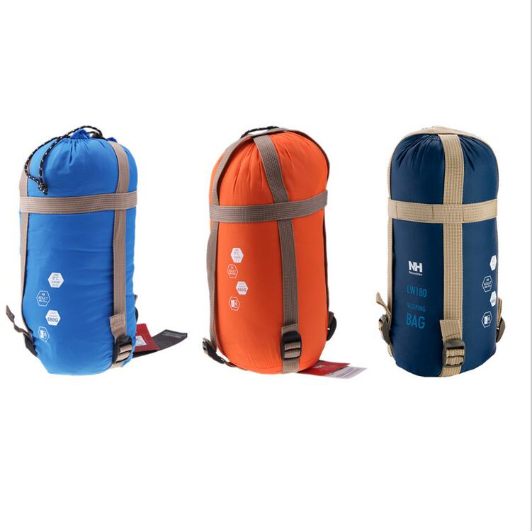 EDC Camping Folding Sleeping Bag Outdoor Warm Waterproof Survival Envelope Bags for Adults Kids Ultra-light Mini Compression Bag(China (Mainland))