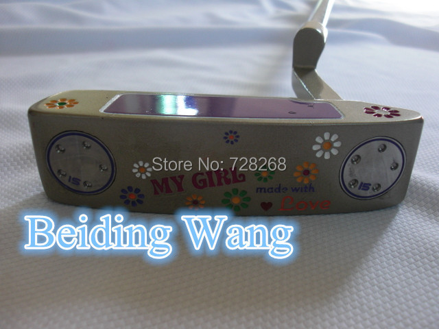 клюшка для гольфа GOLF PUTTER 34 1 MY GIRL Putter Clubs golf putter steel color tour only 2 33 34 35 inch high quality cnc putter free shipping