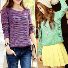 Free shippin hot sale special offer 2014 new show wool sweater knit models seconds kill o-neck promotion arrival limited(China (Mainland))