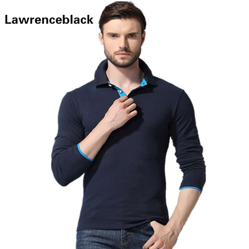 Polo Homme Full Sleeve Shirt Men Camisa Polo Masculina Slim Fit Turn Down Collar Hot Sale Long Sleeves Solid Polos Hombre 1216(China (Mainland))