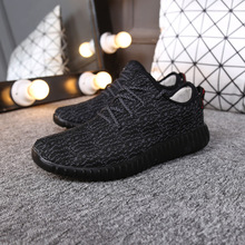 2017 New Brand Spring Autumn 350 Men And Women Fashion Casual Shoes Canvas Breathable Shoes Jogging Walk Shoes Size36~44(China (Mainland))